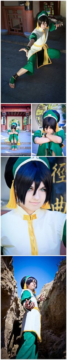 really awesome Toph cosplay.