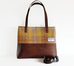 Handmade tweed handbag  Yes please!  3d67dafdb0456