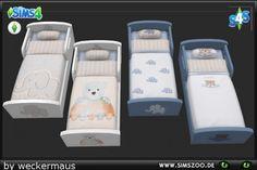 Blackys Sims 4 Zoo: Kids stuff Bedding KK Boy • Sims 4 Downloads
