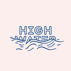 combining literal graphics with typography. Graphically depicting literal meaning of the words Logo Branding, Typo Logo, Water Branding, Corporate Branding, Branding Ideas, Typography Letters, Graphic Design Typography, Graphic Design Logos, Typography Layout