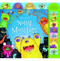 Usborne Noisy Monsters