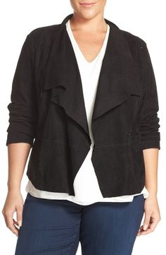 Plus Size Leather Jacket - Nordstrom Anniversary Sale Finds & Faves