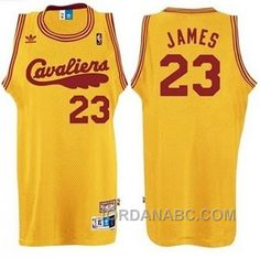http://www.jordanabc.com/lebr-james-cleveland-cavaliers-23-2009-hardwood-classics-retro-yellow-jersey-on-sale.html LEBR JAMES CLEVELAND CAVALIERS #23 2009 HARDWOOD CLASSICS RETRO YELLOW JERSEY ON SALE Only $74.00 , Free Shipping!