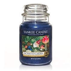 Enchanted Garden : Large Jar Candle : Yankee Candle  #yankeecandle #myrelaxingrituals Yankee Candle Scents, Yankee Candles, Scented Candles, Jar Candles, Unique Candles, Best Candles, Mothersday Gift, Candle Diffuser, Candle Store