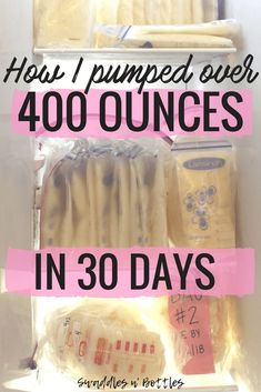 How I filled my freezer with breastmilk in 30 days. Great tips on how to build a freezer stash before returning from maternity leave. Details on my pumping schedule to build a stash included! Great ways to pump more milk in less time! Includes list of supplements to increase you milk production