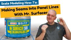 Scale Modeling How-To: Converting Seams Into Panel Lines With Mr. Future Videos, Modeling Techniques, Model Tanks, Military Modelling, Plastic Models, Scale Models, Miniatures, Diy Crafts Home, Scale Model