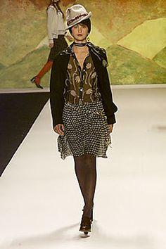 Anna Sui Fall 2000 Ready-to-Wear Fashion Show - Anna Sui, Trish Goff