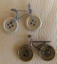 Bicicletas Hechas Con Botones