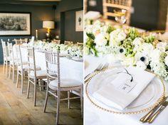 black, white & gold glamorous contemporary wedding inspiration // Photography: Anneli Marinovich www.annelimarinovich.com // Styling: Idyllic Days www.idyllicdays.com