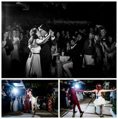Having fun with their First Dance in Ibiza #weddingsinibiza #firstdance #weddingfun
