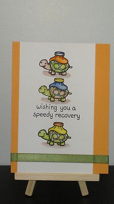 Lawn Fawn - On the Mend _ adorable card by Monica via Flickr - Photo Sharing!