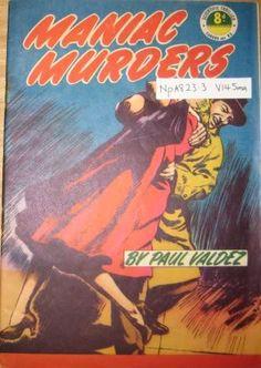 Paul Valdez, Maniac Murders