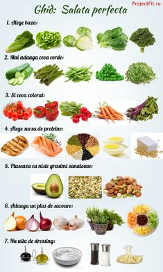 healty food tips / healty food tips Healthy Diet Recipes, Healthy Meal Prep, Diet And Nutrition, Baby Food Recipes, Cold Vegetable Salads, Vegetable Chart, Rina Diet, Helathy Food, Metabolism Boosting Foods