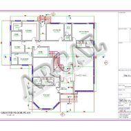 مخططات فلل كويتية Model House Plan Family House Plans Architectural House Plans