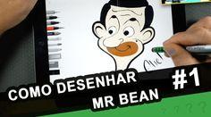 Mr BEAN - Como Desenhar o Mr Bean - Mr Bean para Colorir