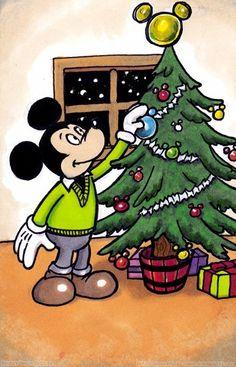 Christmas Tree Mickey