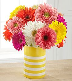 Sunny Celebrations Birthday Bouquet - VASE INCLUDED #contest