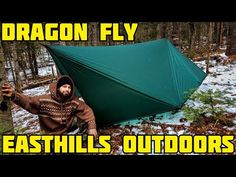 this tarp makes a great rainfly for hammock camping or ground camping as it covers alot of area keeping you dry in foul we. Hammock Tarp, Tent, Bushcraft, Outdoor Gear, Youtube, Store, Tents, Youtubers, Youtube Movies