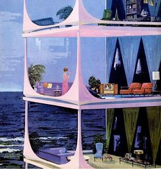 """""""House of the Future"""" - Vintage Motorola ads from the early 60's (Charles Skridde)"""