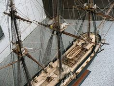 The Great Canadian Model Builders Web Page!: H.M.S. Surprise