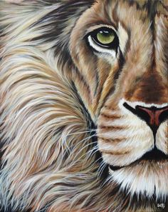 Looking for painting project inspiration? Check out The King by member Scotty Richard. - via @Craftsy