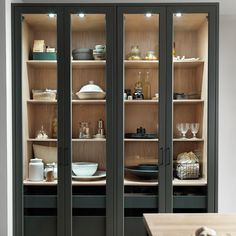 Kitchen Furniture, Kitchen Interior, Patio Design, House Design, Inspired Homes, China Cabinet, Bathroom Medicine Cabinet, Cupboard, Home Kitchens