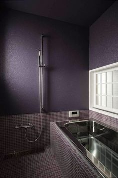 Our Favorite Home Decor Trends Of The Year Purple Bathroom