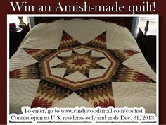 Win an Amish-made qu