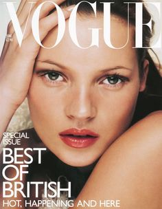 Vogue's Covers: Kate Moss