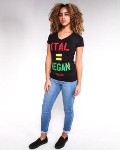 Ital for all humanity ✌️ Model:@kelsieambergrace Photography:@xtremeartphoto Cooyah.com  #reggae #ital #empress #vibes #rasta #queen #curls #vegan #livity #dub #rocksteady