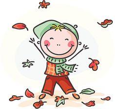 Folhas de Outono - ilustração de arte vetorial
