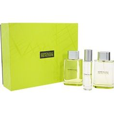 Kenneth Cole Reaction Cologne by Kenneth Cole for Men. 3 Pc. Gift Set