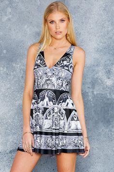 7fb76013cf897 All Greek To Me Marilyn Dress - 48HR ( 95AUD) by BlackMilk Clothing Black