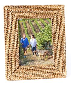 Loving this Rope Photo Frame on #zulily! #zulilyfinds