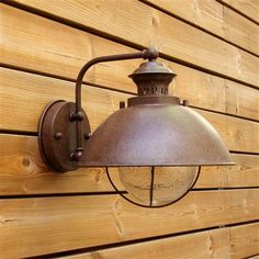 Vintage Wall Lamp, Bronze