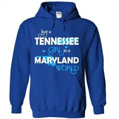 A TENNESSEE-MARYLAND girl Blue03 - #mens tee #cool hoodie. BUY NOW => https://www.sunfrog.com/States/A-TENNESSEE-2DMARYLAND-girl-Blue03-RoyalBlue-Hoodie.html?68278