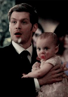 the originals - klaus with hope gif