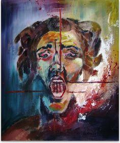 """Rosa Maza Galería: """"Emociones"""" Título: """"Cárcel II"""""""
