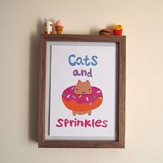 Sunday night cats and sprinkles! by justdaydreamingshop
