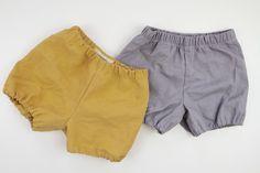 Hosen - Baby Bloomers Leinen ★ Baby Shorts Leinen - ein Designerstück von…