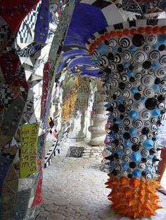The Tarot Gardens, Tuscany, by artist & sculptor Niki De Saint Phalle.
