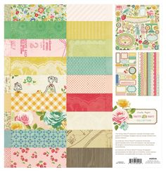 Pretty Party 12X12 Collection Pack by Crate Paper - Two Peas in a Bucket