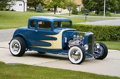 1932 Ford Five Window Coupe.