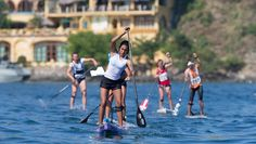 Erika Benitez, a Talent of The Paddle Academy Sup Racing, Sup Stand Up Paddle, 16 Year Old, Erika