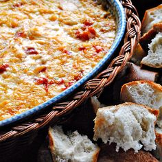 At The Picket Fence: Baked Southwest Cheese Dip