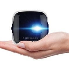 portable projector that projects high definition streaming video onto any surface Top Tech Gifts, Cool Gifts, Best Gifts, Gifts For Techies, Technology Gifts, Portable Projector, Watch Cartoons, Electronics Gadgets, Unusual Gifts