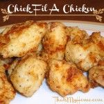 Almost Chick Fil-A Chicken - Lightly battered chicken nuggets that will surely become a family favorite for you. - Recipes, Food and Cooking I Love Food, Good Food, Yummy Food, Tasty, Chicken Nuggets, Frango Chicken, Restaurant Recipes, So Little Time, Back Home