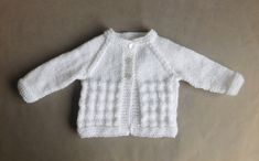 Charlie Baby Cardigan Jacket pattern by marianna mel Crochet , Charlie Baby Cardigan Jacket pattern by marianna mel This design works well for boys and girls …… and is just right for a newborn baby. Knitting for t. Baby Knitting Patterns, Baby Cardigan Knitting Pattern Free, Baby Sweater Patterns, Knitted Baby Cardigan, Baby Hats Knitting, Cardigan Pattern, Jacket Pattern, Baby Patterns, Knitting Stiches