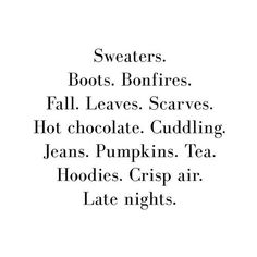 Everything we love about winter!