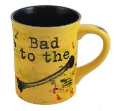 Our Name is Mud Bad to the Bones Mug *** Click image for more details. (This is an affiliate link)